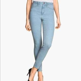 H&M skinny high-waisted jeans #Next30