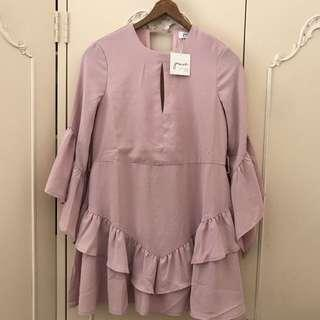 BNWT Jamie My Love Pink Frill Dress