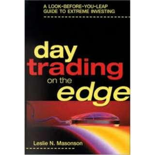 Day Trading On The Edge-Leslie