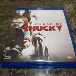 Pre-loved Original Curse of Chucky Blu Ray Bluray