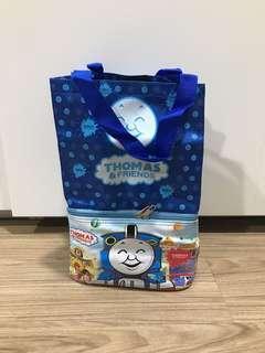 Tas bekal anak 2 susun. Gambar Thomas & Friends
