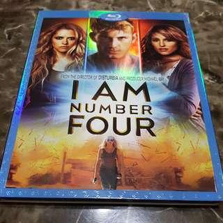 Pre-loved US Original I Am Number Four Blu Ray Bluray
