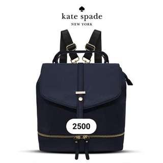 Kate Spade Navy Blue Bag Pack