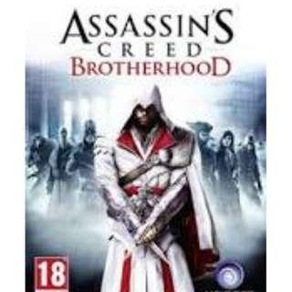 Assassin's creed brotherhood -PS4