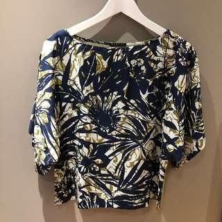 SISLEY Floral Top
