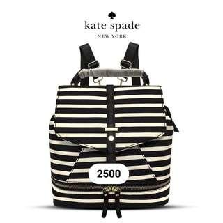 Kate Spade B&W Stripe Bag Pack