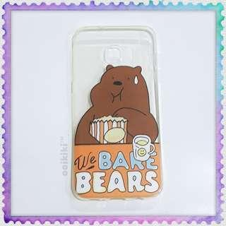 Samsung Galaxy S7 Edge soft cover casing We bare bears