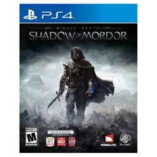 Shadow of Mordor-PS4