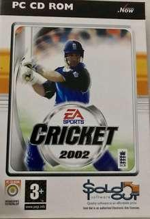 Video Game - Cricket 2002 by EA Sports