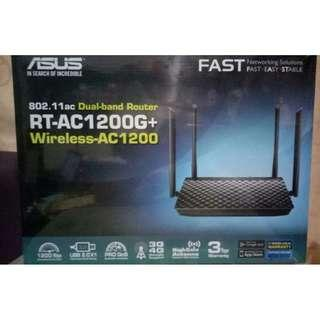 [BNIB] Asus 802.11ac Dual-band Router RT-AC1200G+ Wireless-AC1200