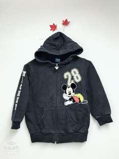 正版迪士尼Disney mickey米奇小童棉外套