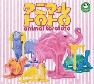色彩 動物 Animal Torotoro  5只