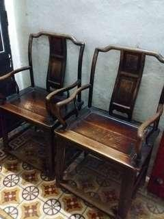 100 years over antique chair