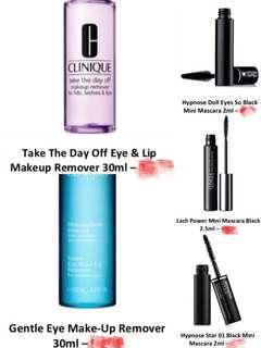 PROMO 💖 Lancôme & Clinique & Clarins Products (3 items for RM85)