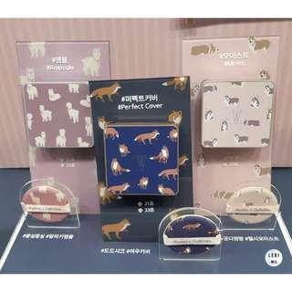 🚚 (12月出貨) apieu新品!!【LEBI】氣墊粉餅 15g 狐狸 / 科基 / 羊駝