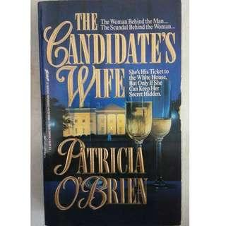 The Candidate's Wife by Patricia O'Brien #TGV3