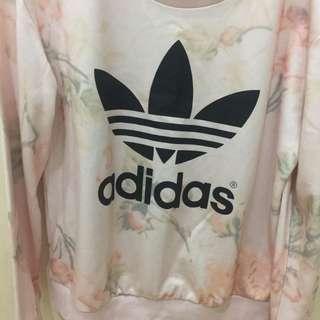 Adidas trefoil women sweater