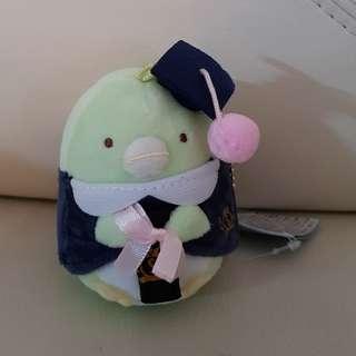 🚚 Graduation Penguin Sumikko Gurashi Plushie Bag Accessory
