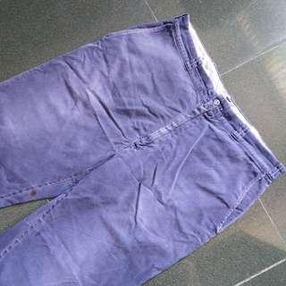 [ 古著 ] 50s vtg French cotton worker chore pants 法國工人褲