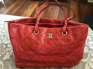 REPRICED! Authentic Chanel on the road tote bag