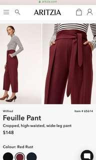 Aritzia Feuille Pants