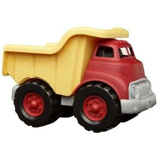 Green Toys Dump Truck (Red/Yellow)