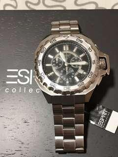 Esprit chrono watch (original,complete) gshock,tag