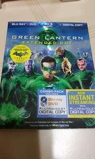 Pre-loved US Original Green Lantern Blu Ray Bluray