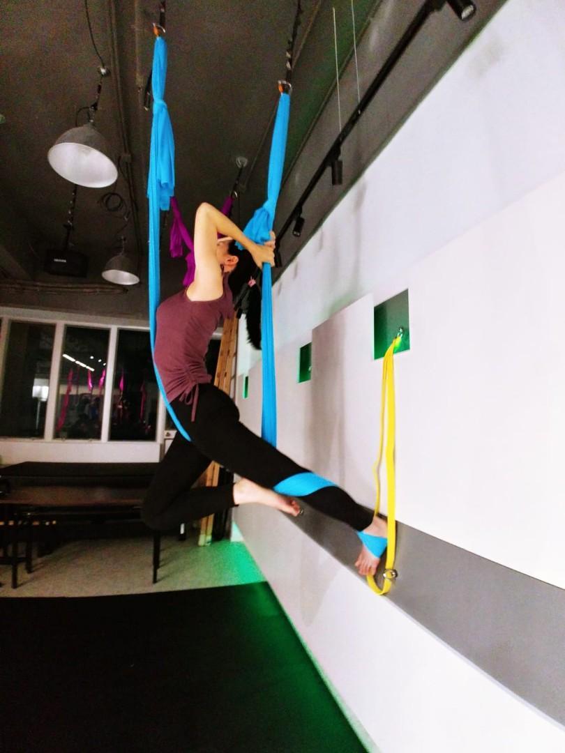🧘♀️空中瑜珈 (Aerial Yoga)🧘♂️ #sellfaster
