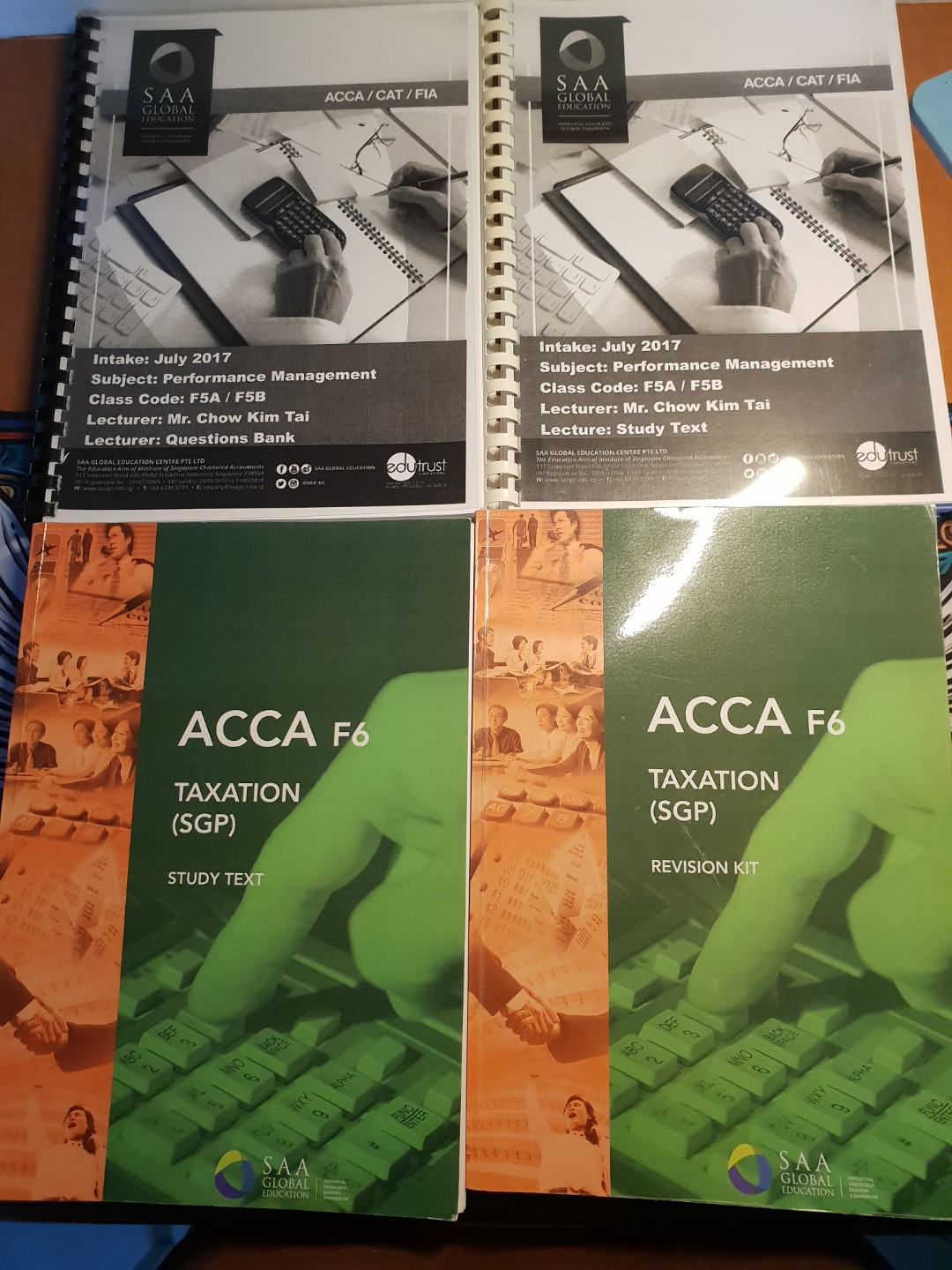 Acca notes+mock paper