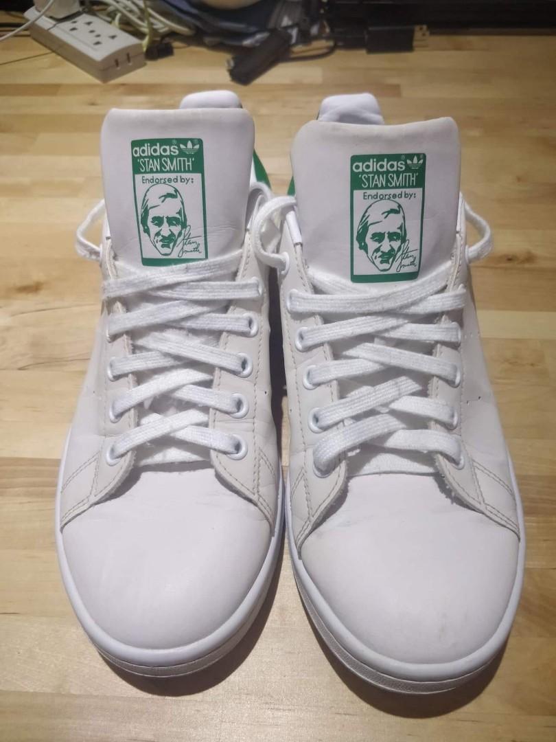 537516808a0 Adidas Stan Smith Green Tab