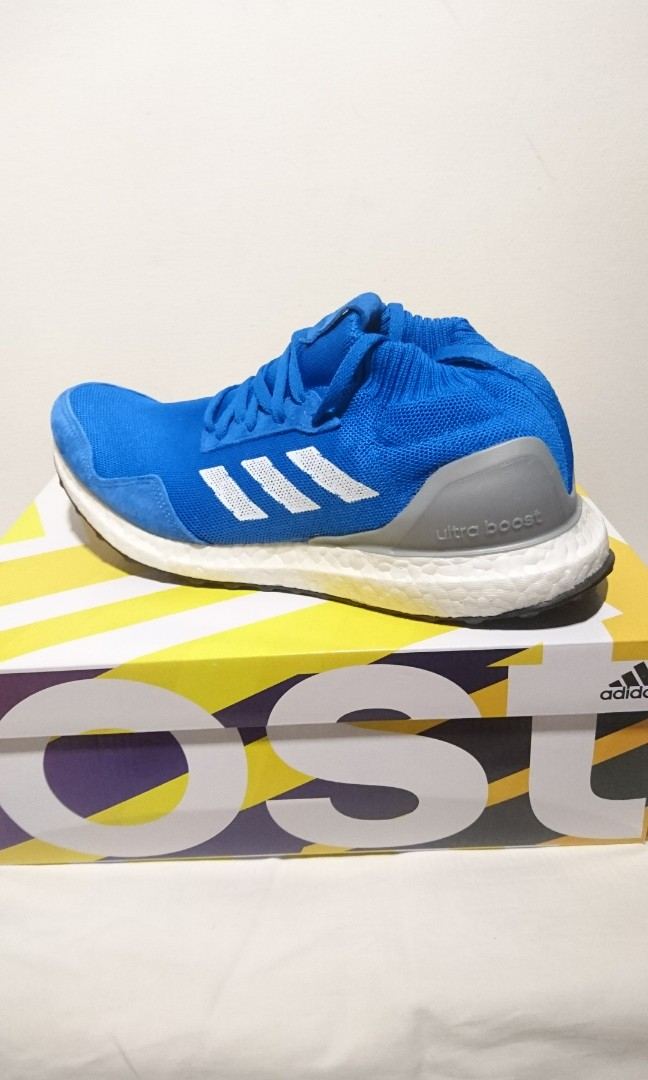 the latest b7d9a 9ca50 Adidas Ultra Boost Mid Run Thru Time X Kith, Mens Fashion, Footwear,  Sneakers on Carousell