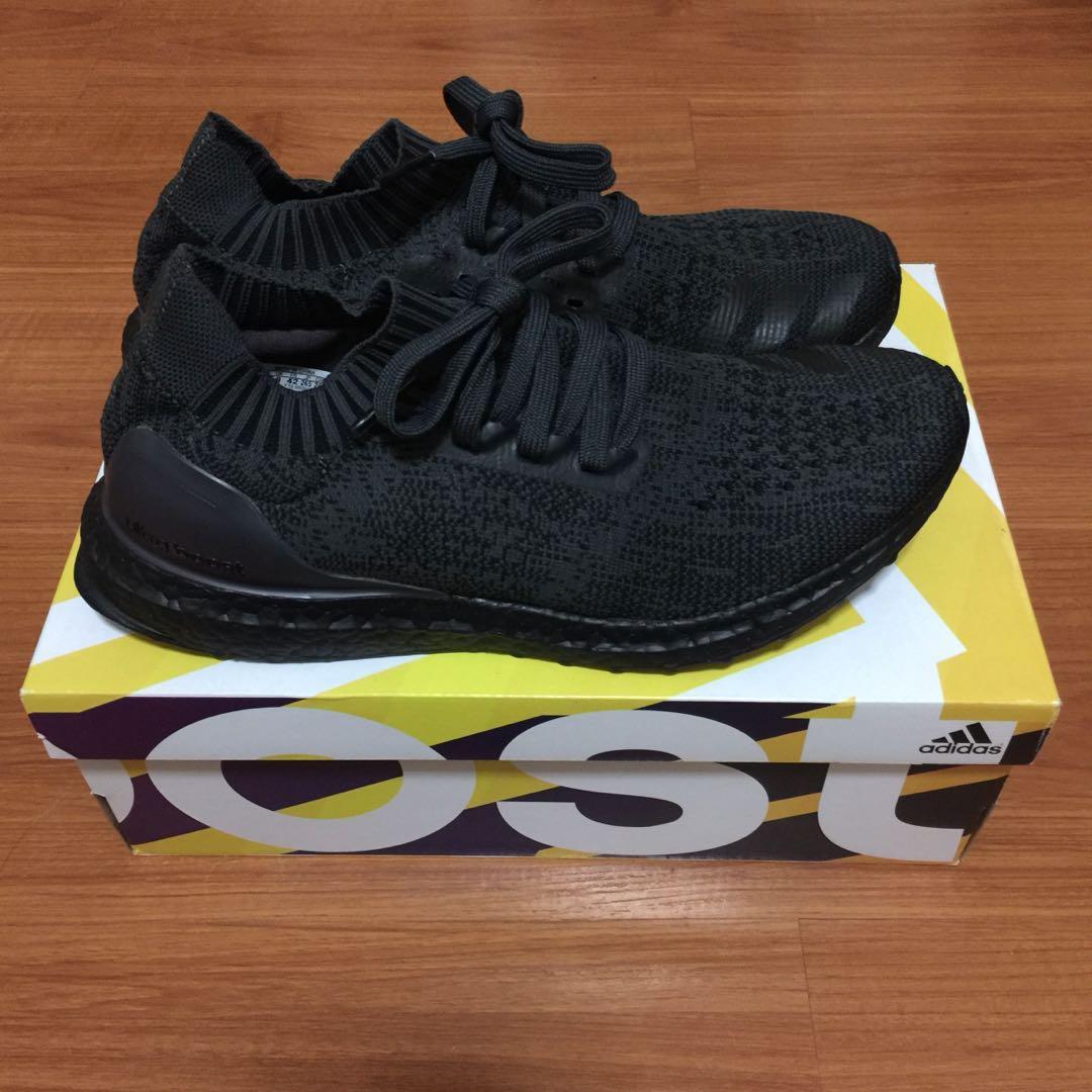 sports shoes aa18f cc129 Adidas Ultraboost Uncaged Triple Black, Men s Fashion, Footwear ...