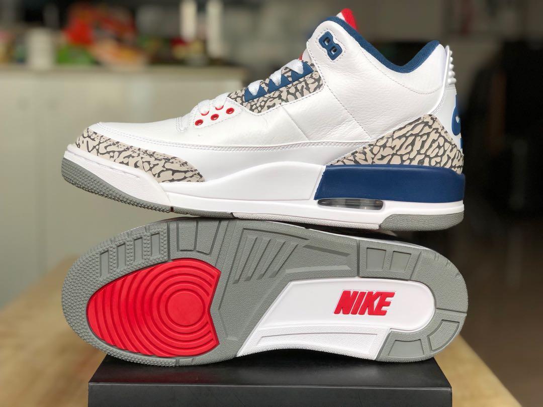 aa27da9580eb7d Air Jordan 3 True Blue