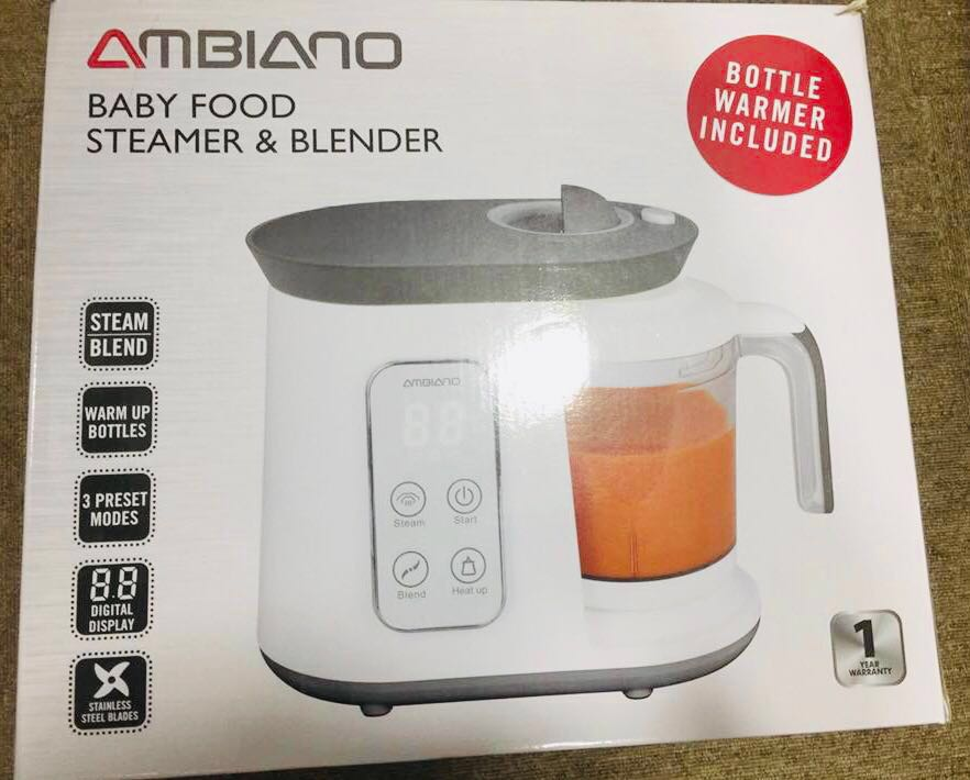 Ambiano food steamer price