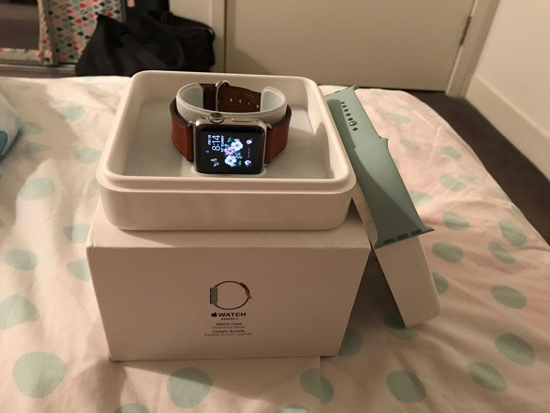 Apple Watch series 2 38mm stainless steel