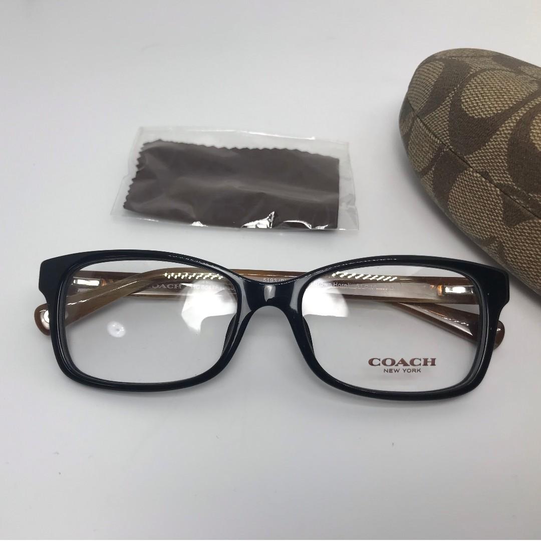 06071989 Authentic Coach HC6047F Asian Fit 5193(Brand New), Men's Fashion ...