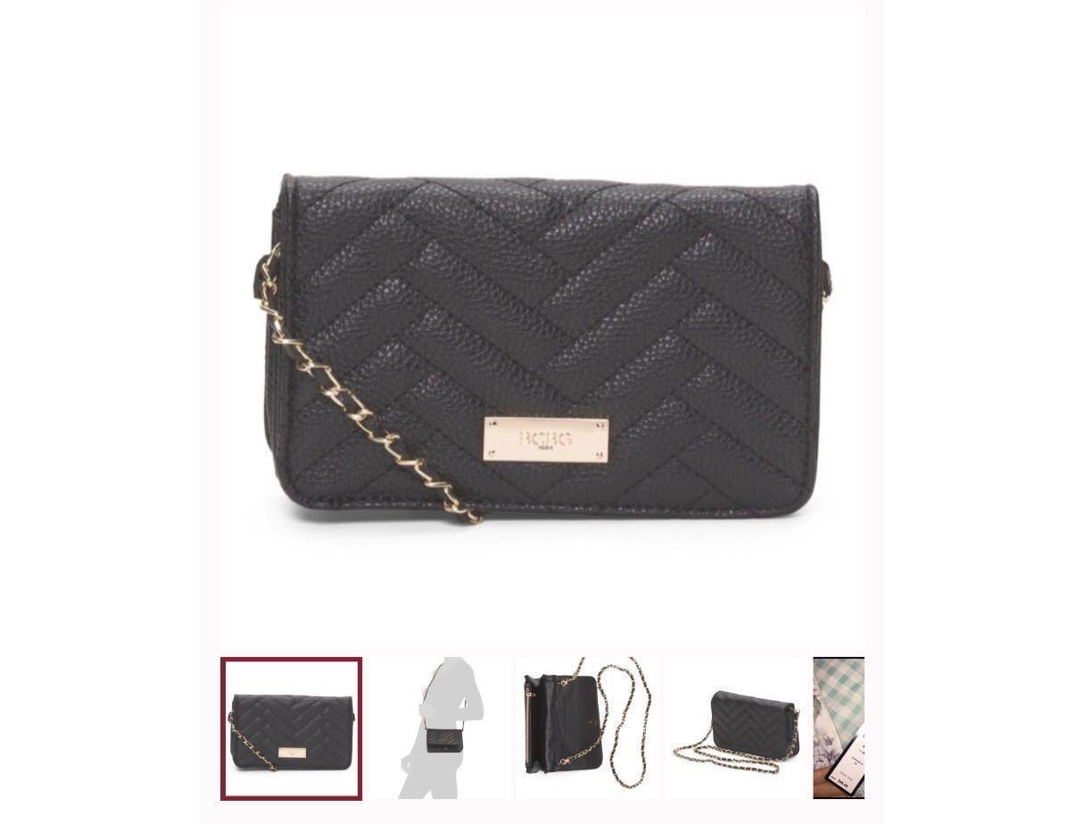 5b861599a37 BCBG Paris mini crossbody bag with detachable chain, Women's Fashion ...