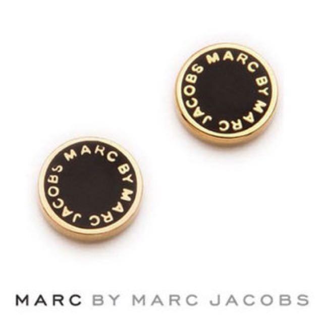 6f2057090 Best! Marc Jacobs Enamel Logo Disc Stud Earrings Christmas, Women's ...