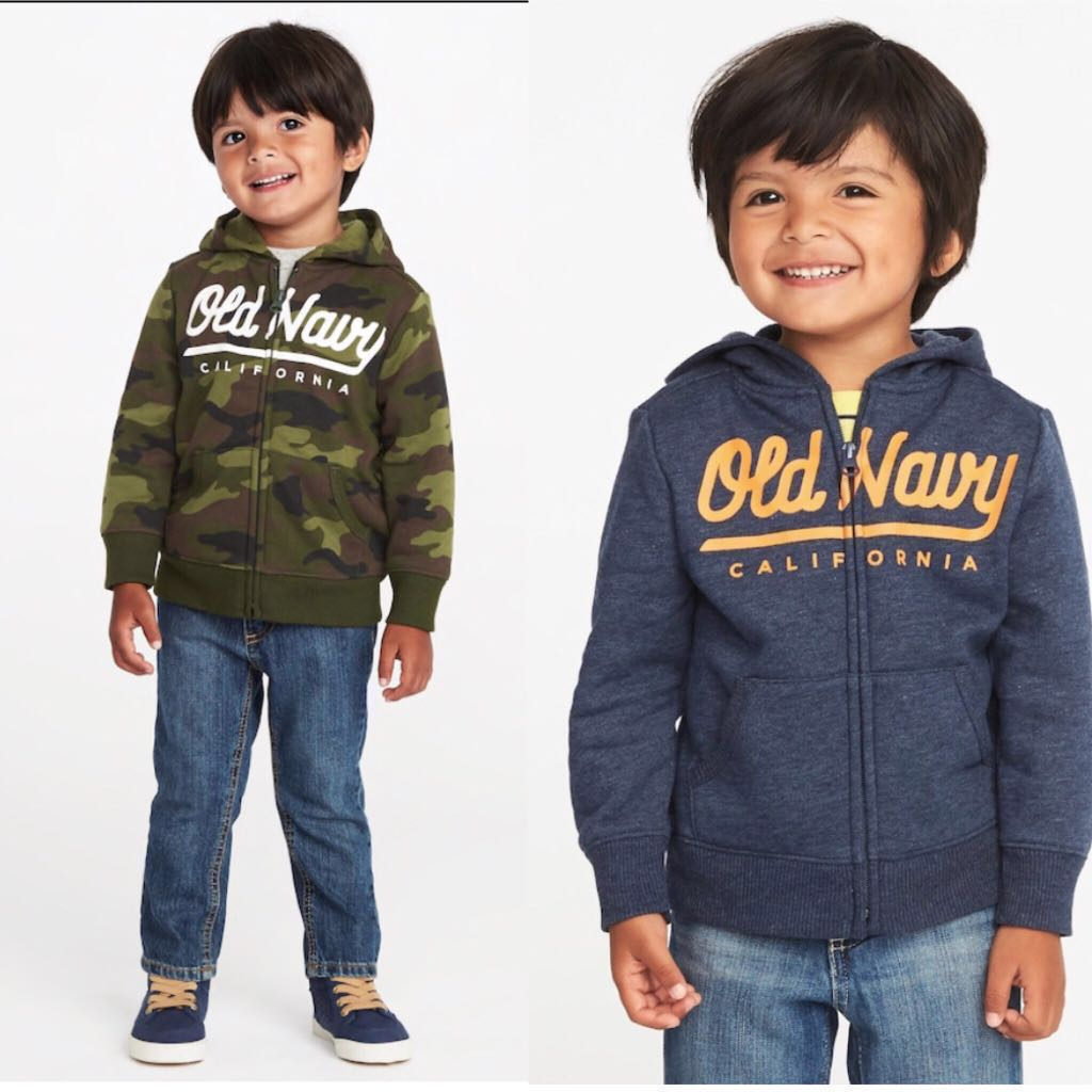 519ac585bb60 BN Old Navy Toddler Boy Logo Fleece Camo Hoodie Jacket 18-24mths 2 ...
