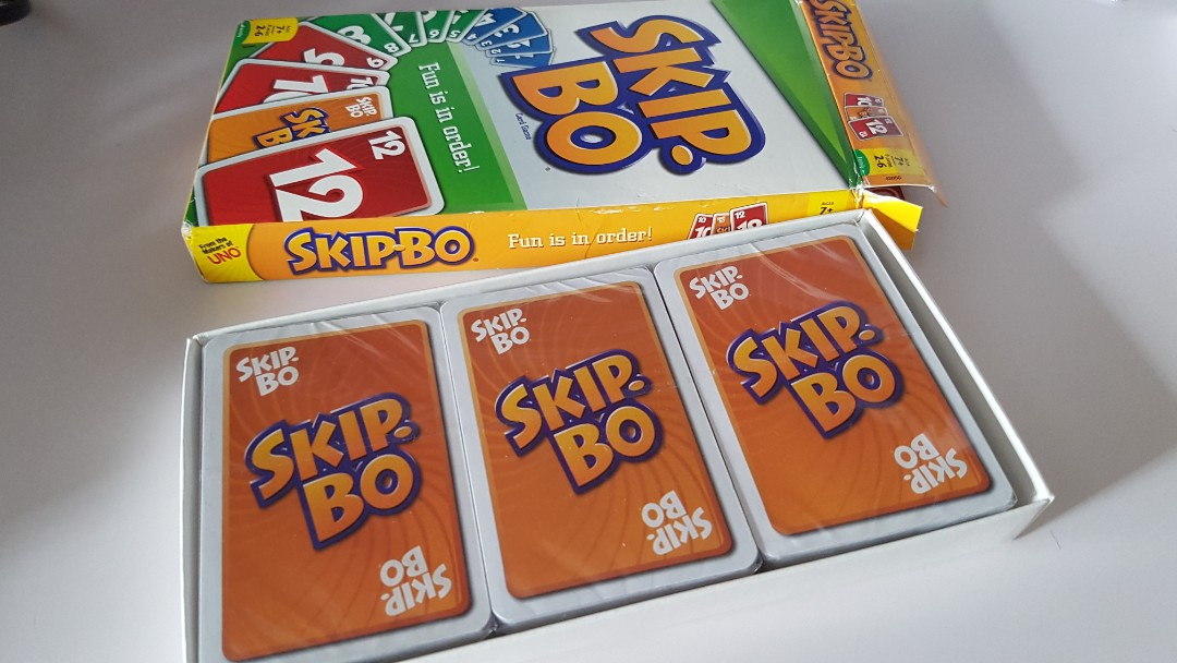 Bn Skip Bo Card Game Pack Sealed Toys Games Board Games Cards