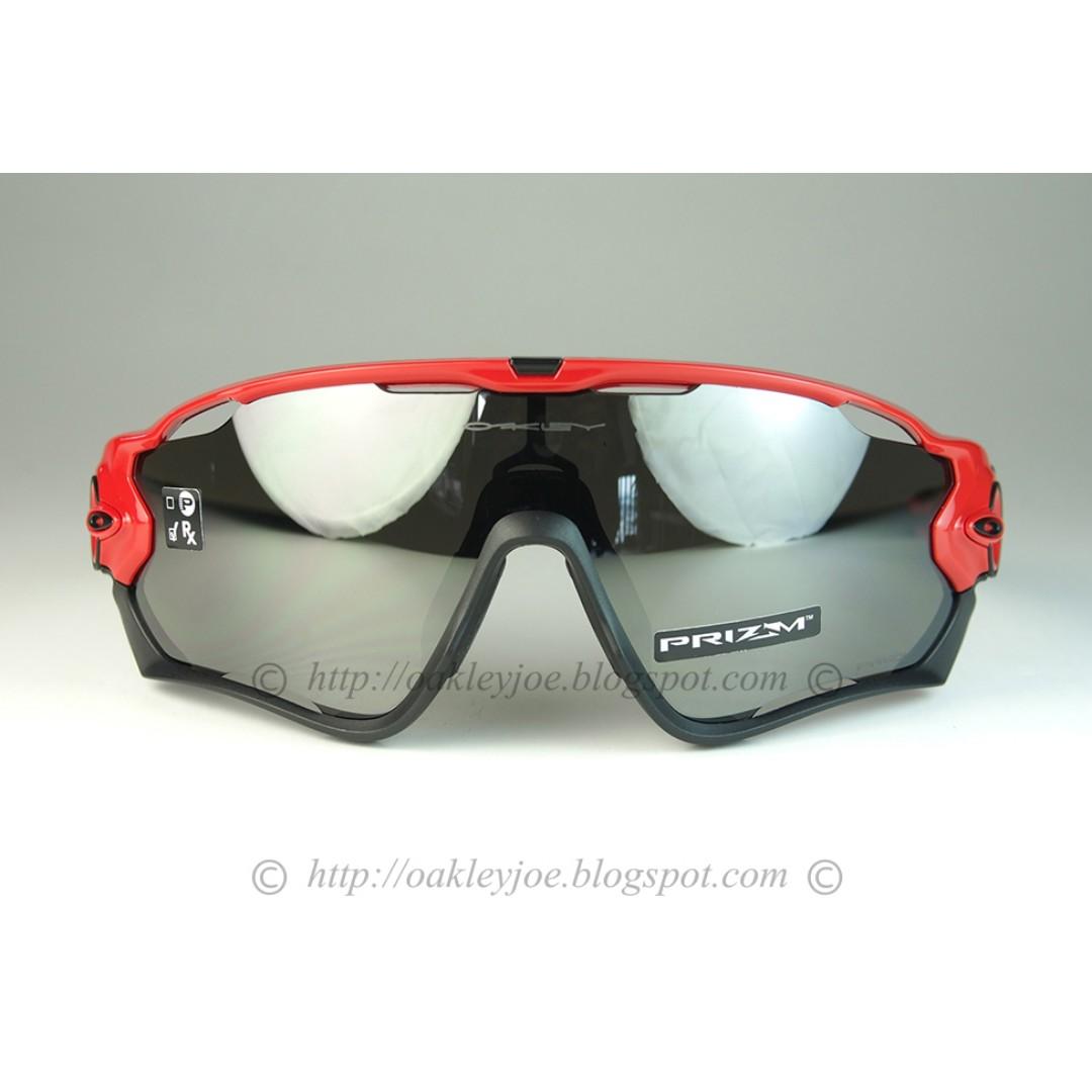 aa085e30ba0cb Sale! BNIB Oakley Custom Jawbreaker redline + black prizm iridium sunglass  shades