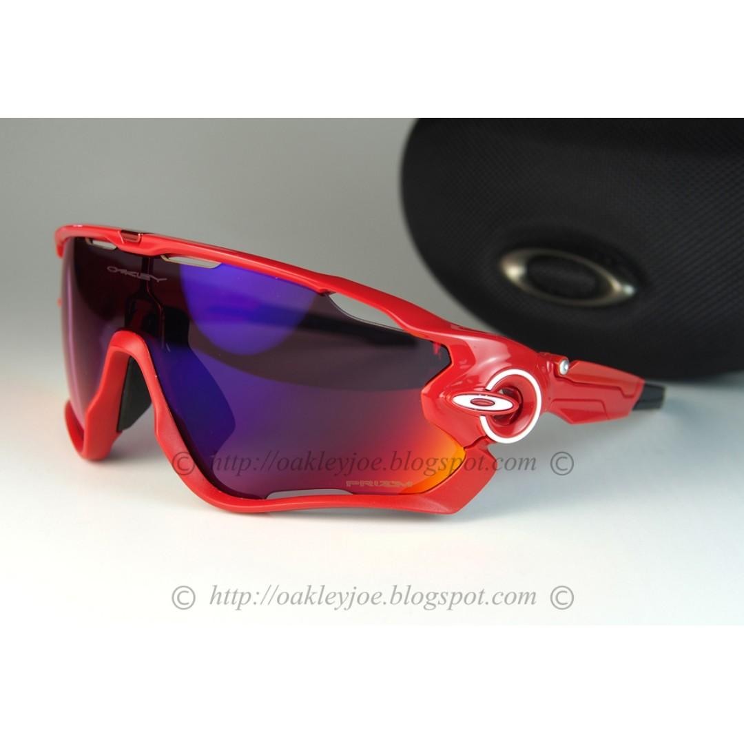 e0c33768fd BNIB Oakley Custom Jawbreaker redline + road prizm lens sunglass ...