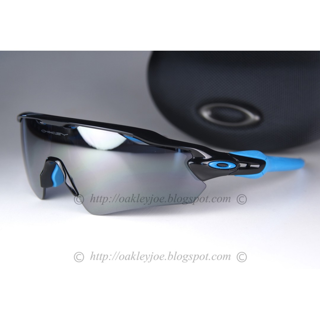0e6021b67dc BNIB Oakley Custom Radar EV Path Asian Fit polished black + black ...