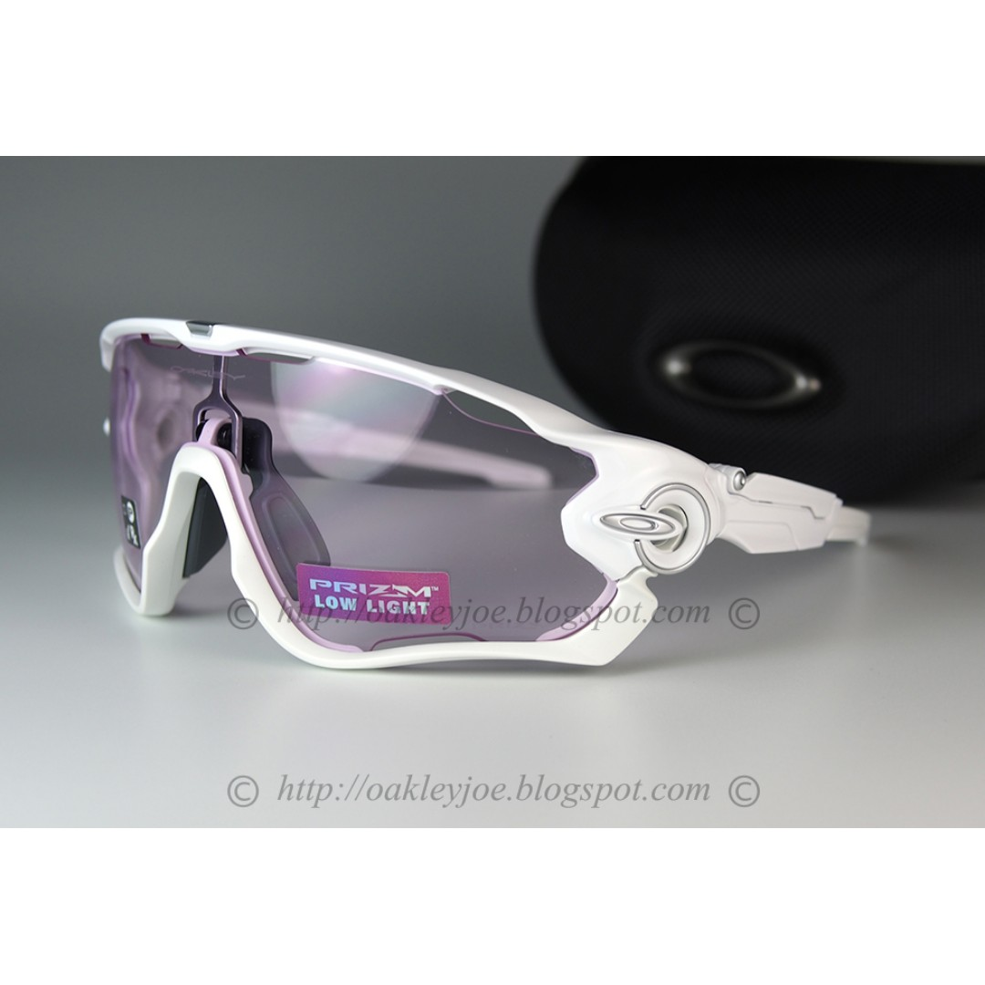 2ac4f67cff BNIB Oakley Jawbreaker polished white + prizm low light oo9290-3231  sunglass shades