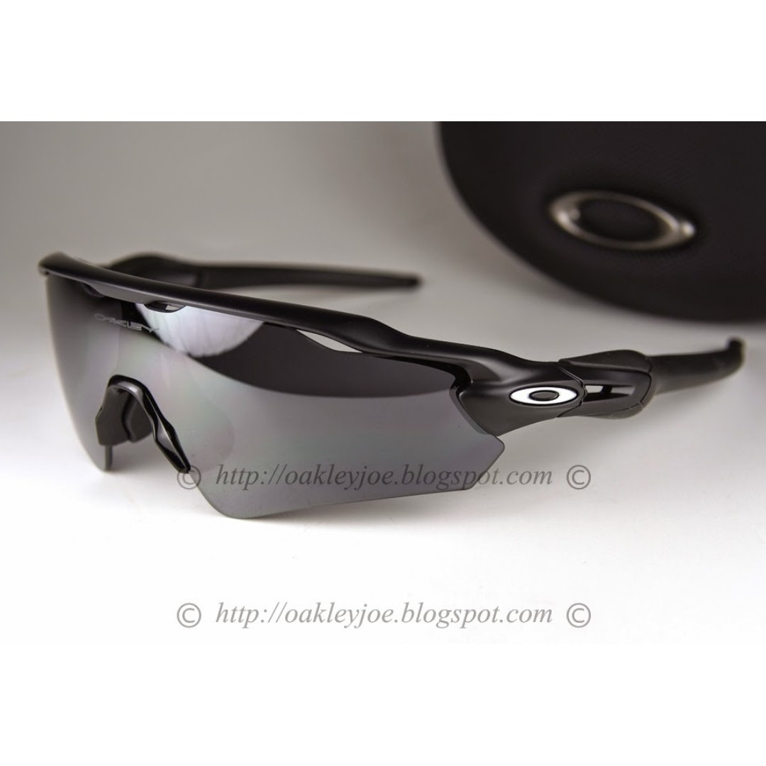 07bf9a9069 BNIB Oakley Radar EV Path Asian Fit matte black + black iridium oo9275-01  sunglass shades