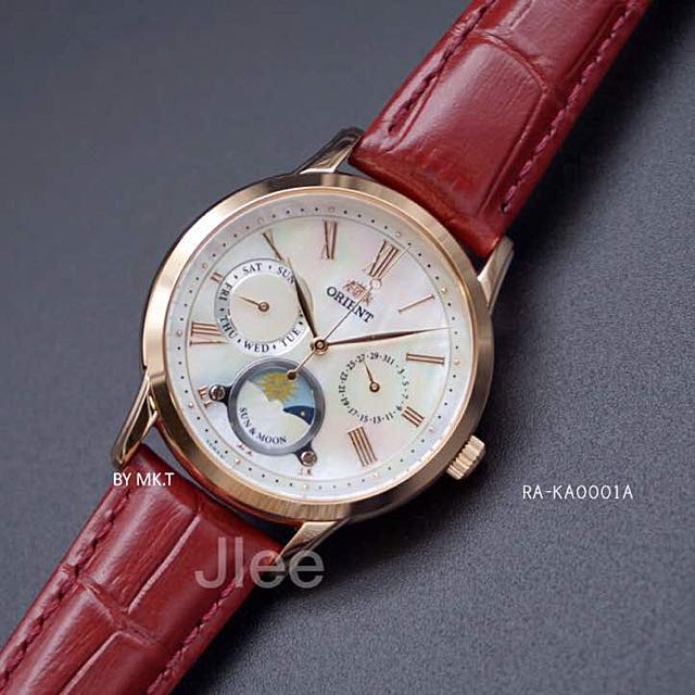 Orient sun and moon petite automatic