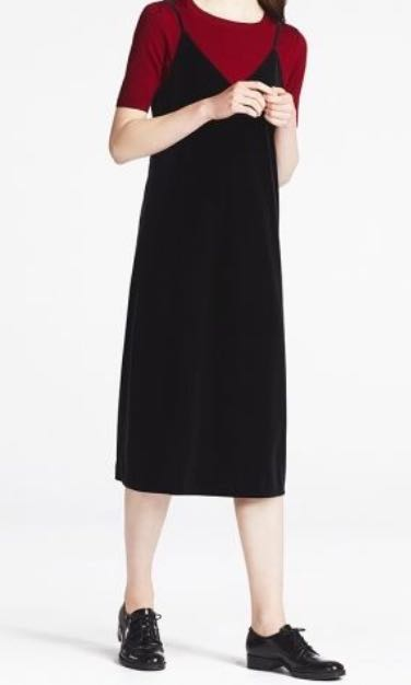593846cbd35d BNWT Women Velour Camisole Dress, Women's Fashion, Clothes, Dresses ...
