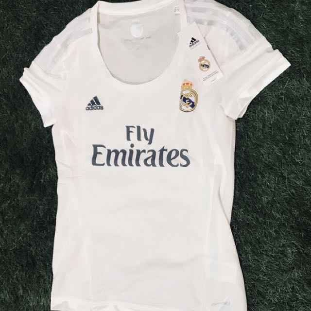 4ad1ae310 Brand New Authentic Real Madrid 15 16 Ladies Away Jersey