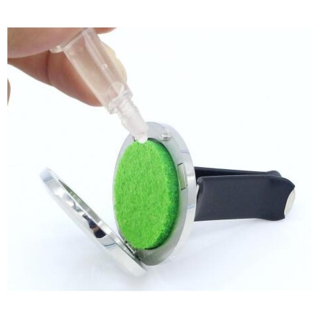 Car Aroma Diffuser Vent Clip 30mm - 18 designs to choose (Vesalia)
